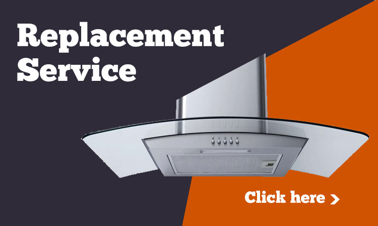Replace cooker hood